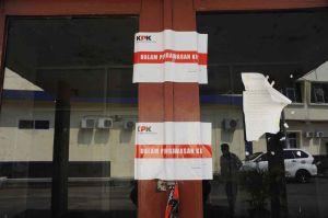 KPK Segel Kantor Bidang Penerangan Jalan Umum Dinas PUPR MUBA