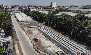 Pembangunan Jembatan Layang di Bandung Ditargetkan Rampung November 2022