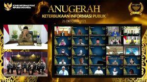 Penganugerahan Keterbukaan Informasi Badan Publik Tahun 2021