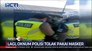 Ditegur Petugas Akibat Tak Pakai Masker, Oknum Polisi Melawan