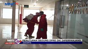 Penutupan Gedung DPRD DKI Jakarta Diperpanjang