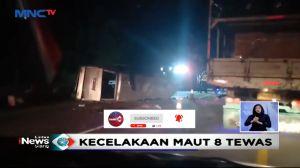 Kecelakaan Maut Tol Cipali, 8 Orang Tewas