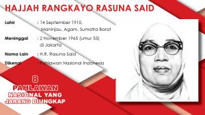 8 Pahlawan Nasional yang Jarang Diungkap, HR Rasuna Said (Seri-6)