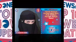 Hijrah Setelah Ingat Mati, Five Vi Malu Pernah Tampil Seksi