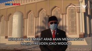 Tak Hanya Nama Jalan, UEA Segera Bangun Masjid Presiden Jokowi