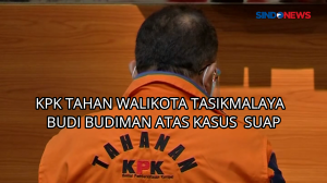 KPK Tahan Walikota Tasikmalaya Budi Budiman Atas Kasus Suap