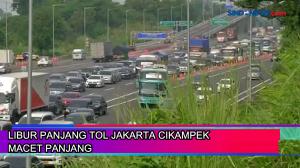 Libur Panjang Tol Jakarta Cikampek Macet Panjang