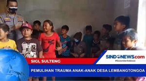 Pemulihan Trauma Anak-anak Desa di Sigi akan Terorisme