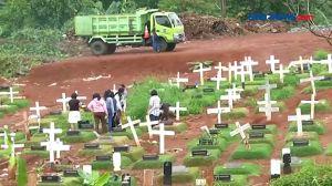 Lahan Penuh, Tpu Pondok Ranggon Layani Pemakaman Sistem Tumpuk