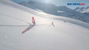 Sensasi Bermain Ski Ekstrem di Pegunungan Alpen