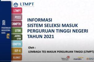 1,3 Juta Siswa Telah Simpan Permanen Akun LTMPT