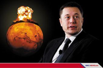 Musk Ingin Membom Mars, Rusia: Kedok Usung Bom Nuklir ke Luar Angkasa