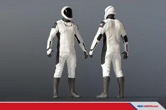 Baju Astronot SpaceX Dirancang Desainer Kostum Captain America