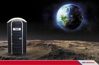 NASA Bikin Lomba Desain Toilet di Bulan, Hadiahnya Rp500 Juta