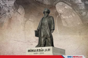 Mimar Sinan, Arsitek Legendaris Utsmani Memperkokoh Hagia Sophia