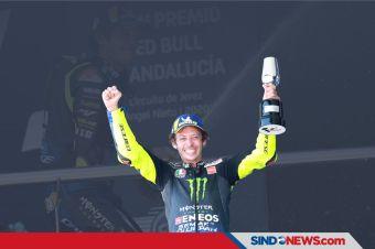 Valentino Rossi Bahagia Akhirnya Hapus Dahaga Podium
