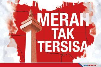 5 Wilayah di DKI Jakarta Zona Tinggi Risiko Penyebaran Covid-19