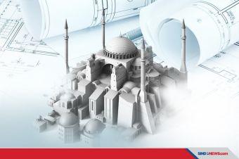 Dibantu Rusia, Suriah Berencana Bangun Hagia Sophia Baru
