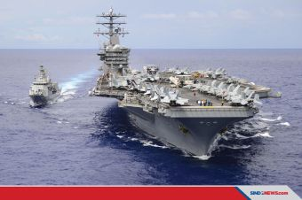 Menelisik Mampukah China Menenggelamkan Kapal Induk AS