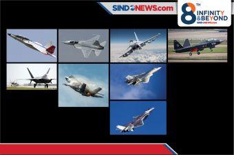 8 Jet Tempur Generasi Ke-5 Paling Canggih Di Dunia