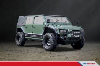 'Maung Pindad' Kendaraan Taktis (Rantis) 4 x 4 Buatan Indonesia