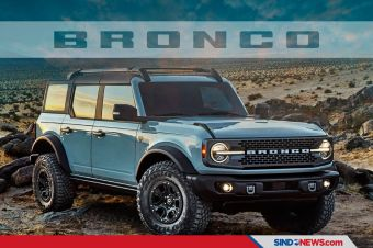 Dipesan 230.000 Unit, Pembeli Ford Bronco harus Antri hingga 2022