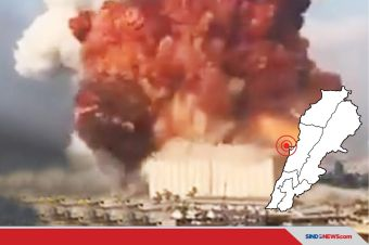 10 Hal yang Perlu Diketahui dari Ledakan Mengerikan di Beirut