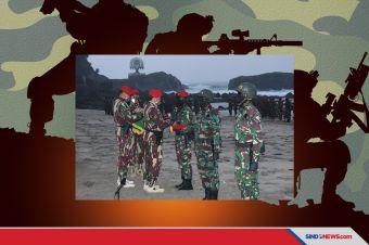 Danjen Kopassus Tutup Pendidikan Komando Angkatan 104