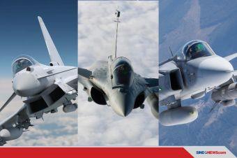 Menilik Kemampuan 3 Jet Tempur Eropa, Dua Masuk Radar Indonesia