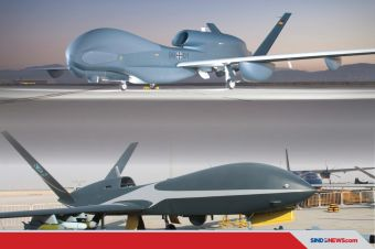 Komparasi Cloud Shadow dan RQ-4 Global Hawk, Drone Jet HALE Type