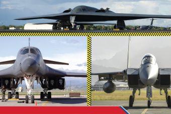 Bomber dan Fighter Amerika Pamer Kekuatan Udara di Indo-Pasifik