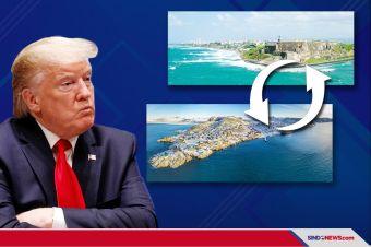 Trump Ingin Tukar Puerto Rico dengan Greenland