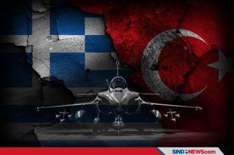 Yunani Lawan Turki, Prancis Pasok 18 Jet Tempur Rafale