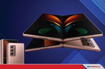 Dibanderol Rp30 Juta, Samsung Galaxy Z Fold2 Resmi Meluncur
