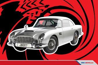 Mobil Bekas James Bond Laku Rp93 Miliar, Cetak Rekor Baru Penjualan