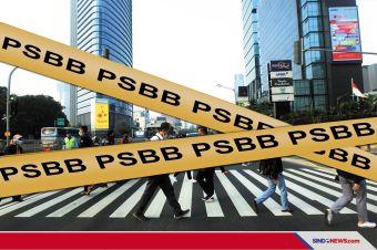 DKI Jakarta berlakuakn PSBB Lagi, Semua Kegiatan Kembali WFH