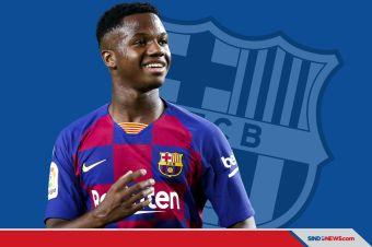 Ansu Fati, Si Bocah Ajaib yang Digadang Jadi Penerus Messi Di Barca
