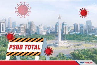 16 Hal yang Harus Diingat Selama PSBB Total Jakarta
