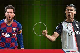Messi Tumbangkan Cristiano Ronaldo