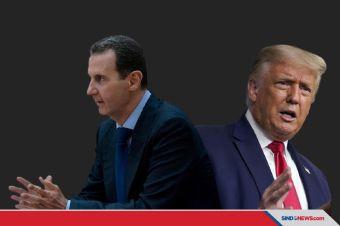 Mengaku Dicegah Mattis, Trump Urung Bunuh Presiden Assad
