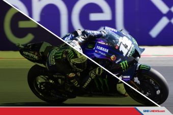 Vinales Rebut Pole Position di MotoGP Emilia Romagna