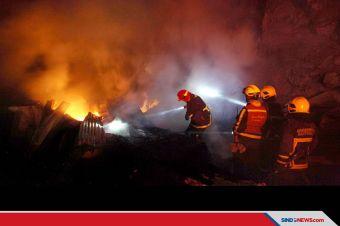 Gedung Kementerian Sosial di Salemba Raya Terbakar