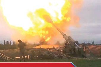 Perang Armenia-Azerbaijan Hampir 100 Orang Tewas di Nagorno-Karabakh