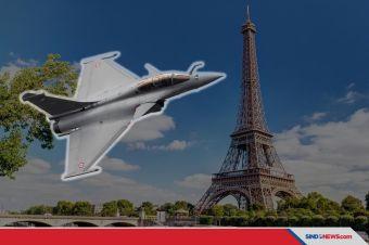 Ledakan Dahsyat Guncang Paris, Ternyata Dentuman Sonik Jet Tempur
