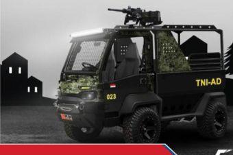 Memodifikasi Mobil Desa Jadi Kendaraan Taktis TNI dan Polisi