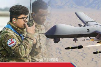 China Dibuat Meradang, Penyebabnya Patch Skuadron MQ-9 Reaper AS