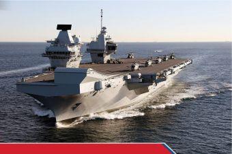 Gertak Rusia dan China, Inggris Memobilisasi HMS Queen Elizabeth