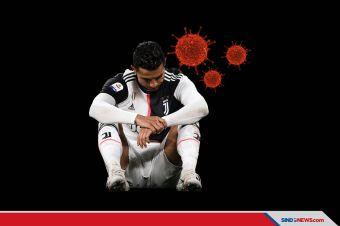Juventus Dapat Kabar Buruk, Cristiano Ronaldo Positif Covid-19