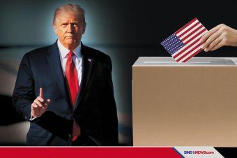 JIka Kalah, Trump Jamin Transfer Kekuasaan Berlangsung Damai