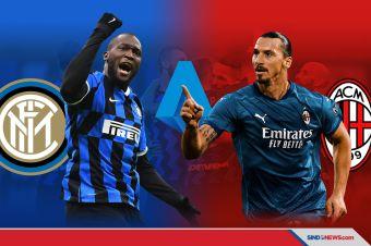 Inter Milan vs AC Milan, Derbi Berebut Puncak Klasemen